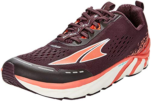 ALTRA Women's Torin 4 Road Running Shoe, Plum/Coral - 8.5 M US