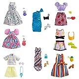 Barbie- Ropa COMPLEMENTOS DE Moda Mod SDOS, Multicolor (Mattel 1)