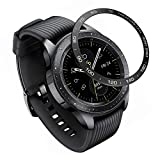 YSSNH Protective Ring Cover Compatible with Samsung Galaxy Watch 42mm/Gear Sport, Stainless Steel Decorative Rotating Watch Dial Protection Ring Compatible Galaxy Watch 42mm / Galaxy Gear Sport