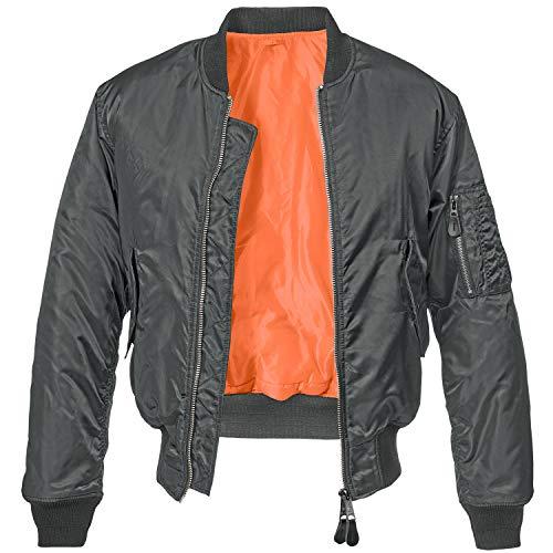 Brandit MA1 Jacke Anthrazit L