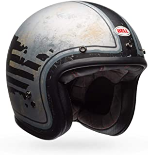 Capacete Bell Helmets Custom 500 Rsd 74 Preto Cinza 56