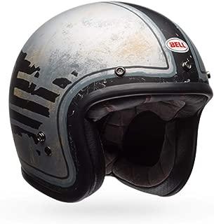 German Style Half Helmet Motorcycle Cruiser Scooter Cool Halley Helmet,Black,M Sanqing Summer Handmade Personality Vintage Harley Helmet Motorcycle