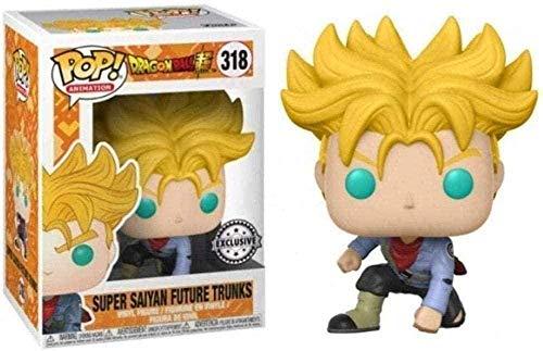 ¡Música Pop! Dragon Ball - Future Saiyan Future Future Trunders Estatuilla de Vinilo colectiva de la Serie Pop Animotion