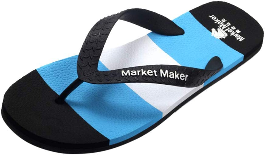 Men's Flip Flops Fashion Lightweight Thong Sandals Comfort Summer Beach Pool Shower Slippers Suitable for Poolparty Sports Walking Beach Travel