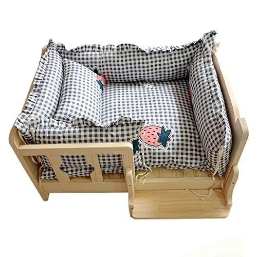 Hundebett Bequemes Hundebett Platz, Weiches Waschbares Hunde- und Katzenkissen mit...