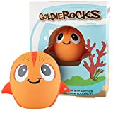 My Audio Pet Fish Mini Bluetooth Animal Wireless Speaker for Kids of All Ages - True Wireless Stereo Technology – Pair with Another TWS Pet for Powerful Rich Room-Filling Sound - (GoldieROCKS)