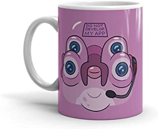 Mug 11oz 15oz White Ceramic Novelty Glootie Mad Scientist Rick Sanchez And Grandson Morty Favorite Tv Series Fan Art Coffe...
