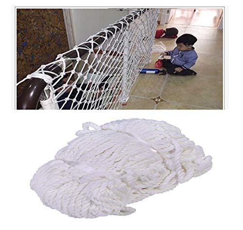 STTHOME Child Safety Net Protection Climbing Frames Child Safety Net, Fence Netting, Balcony Protection Nets, Stair Railings Fall Prevention Climbing Net, Railway Net, Car Net, Cargo Net, 2x3m