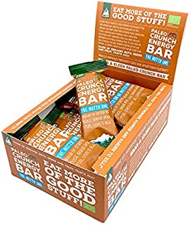 KLEEN Sports Nutrition Paleo Crunch Energy Bar - The Nutty One