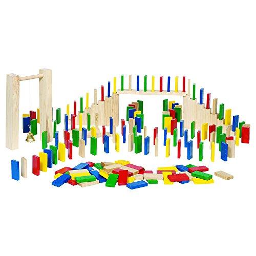 Toys Pure - 2041749 - Juego de conocimientos - Domino-Rally, 250 piezas