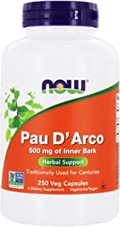 Sponsored Ad - Now Foods PAU D' Arco, 500 mg, 250 Veg Capsules