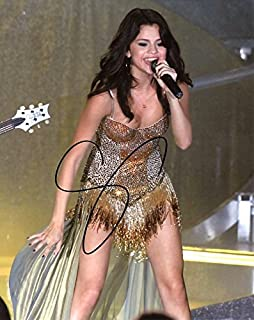 Selena Gomez STAGE In Person Autographed Photo