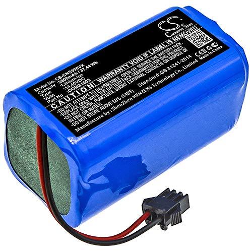 CS-CNS990VX Batería 2600mAh Compatible con [CECOTEC] Conga 1090, Conga 1190, Conga 950, Conga 990, Excellence, Excellence 990, para [MAMIBOT] ExVac 660, ExVac 680S, ExVac 880 sustituye CONG1002