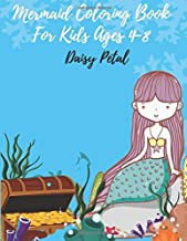 Mermaid Coloring Book for Kids Ages 4-8: 30 Unique Coloring Pages