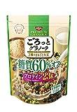 日清シスコ ごろっとグラノーラ 3種のまるごと大豆 糖質60 オフ 360g×6袋