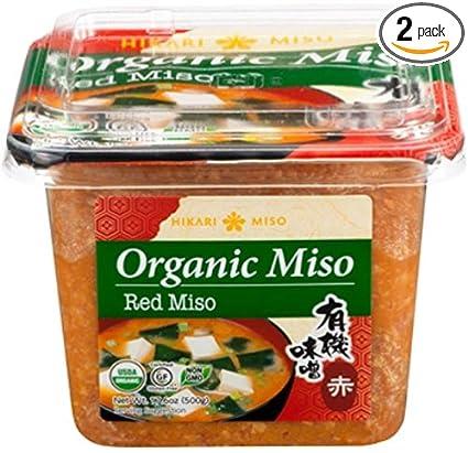 Hikari ORGANIC Red Miso Paste (2 Tubs)