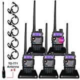 BaoFeng Radio High Power Upgraded Baofeng UV-5R Ham Radio Handheld Two Way Radios with TIDRADIO-771 Antenna Baofeng...