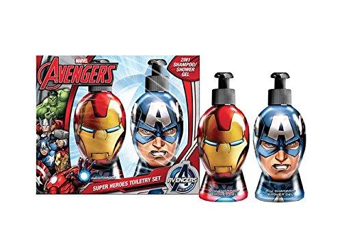 Marvel Avengers Heroes Rival Gel Doccia - 300 ml, Shampoo Doccia - 300 ml