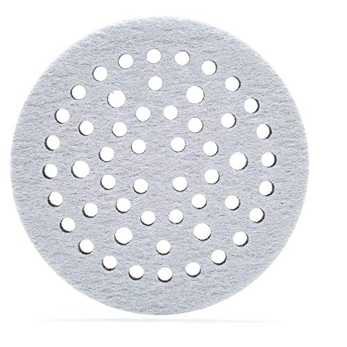 "3M Clean Sanding Soft Interface Disc Pad, 52 Holes - Disc Backup Pad for Vacuum Sander - Hook and Loop Attachment - 6"" x .5"" - 28322"