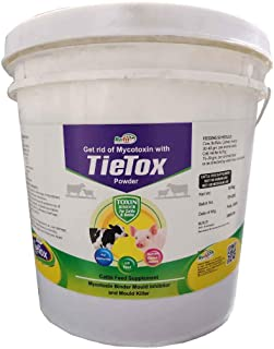 REFIT ANIMAL CARE - Toxin Binder Powder for Cattle, Pig, Cow, Sheep and Livestock Animals (TieTox 10 Kg. Powder)