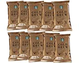 Starbucks Cold Brew Coffee | Medium Roast Coffee Pitcher Packs | 10 Bags (Makes 10 Pitchers Total)