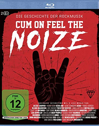 Cum On Feel The Noize - Die Geschichte der Rockmusik [Blu-ray]