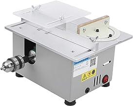 Mini sierra de mesa High Match Diamond Silver Multi función Carpintería DIY Modelo Herramienta de corte AC110V ‑ 240V 96W(EU specification)