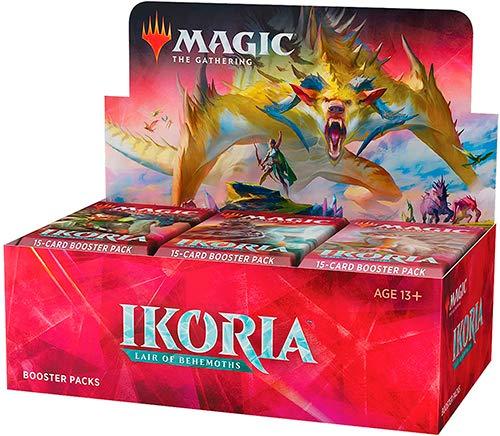 Magic The Gathering MTG-IKO-TBD-EN Ikoria Lair of Behemoths Theme Booster Packet (Estilo enviado al Azar)