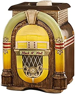 ScentSationals Retro Collection- Retro Jukebox - Scented Wax Cube Warmer