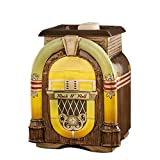 Scentsationals Retro Collection - Jukebox - Scented Wax Warmer - Vintage Rock N Roll Music Karaoke Wax Cube Melter & Burner - Electric Fragrance Home Gift