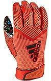 adidas Adizero 8.0 All American Pack Receiver's Football Gloves Red Medium