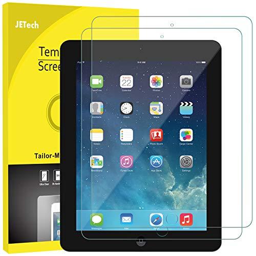 JETech Panzerglas Kompatibel mit iPad 4, iPad 3 & iPad 2, Gehärtetem Glas Bildschirmschutzfolie, 2 Stücke
