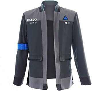 COSTORY Become Human Connor Jacket Cosplay Costume Men Coat Uniform Suit