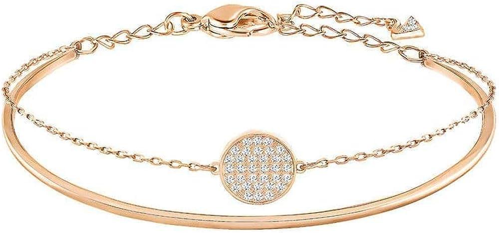 SWAROVSKI Ginger Rose Gold-Tone Bracelet
