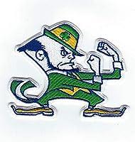 "???? 3.5"" University of Notre Dame Fighting Irish Leprechaun Iron-on Jersey Patch!"