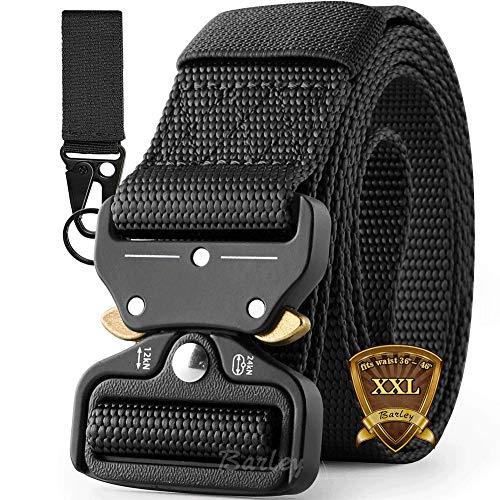Cintura Militare, Cintura Regolabile Tattica di Sicurezza Cintura con Fibbia Cobra Cintura Resistente, XLL large size in Nylon Cintura, per Caccia Esecuzione di Esercizi Militari
