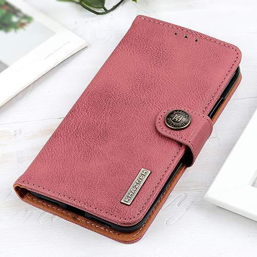 BellaCase Handyhülle für LG Velvet, LG Velvet Klapphülle, Robuste praktische LG Velvet Telefonhülle, Handytasche Case für LG Velvet, Rosa