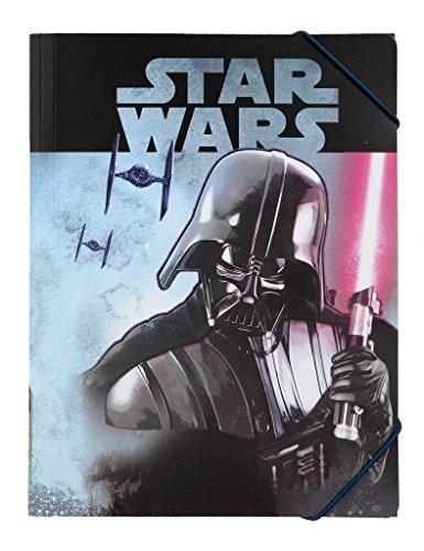 Undercover swhx0300–Star Wars Cartella con Elastico, Formato A4