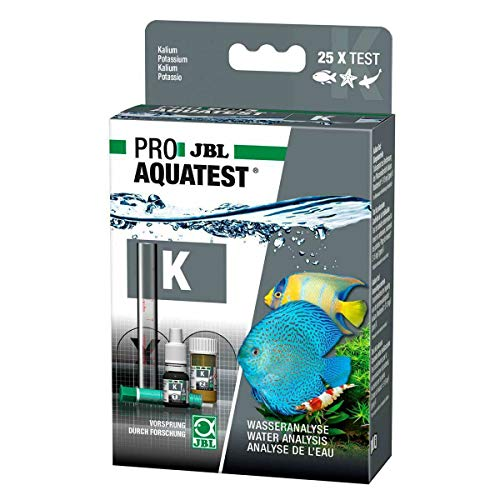 JBL K Kalium Test-Set, Test zur Bestimmung des Pflanzennährstoffes Kalium