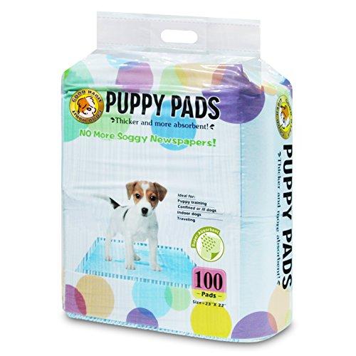 Best Pet Supplies Puppy/Training Pads, Blue, 100 Pack
