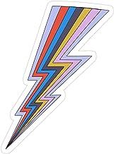 Story Storm Store Rainbow Lightning Bolt Stickers (3 Pcs/Pack)