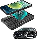 Chargeur de Voiture Sans Fil pour Accessoires de Contrôle Central Ford Explorer 2020 2021,avec...