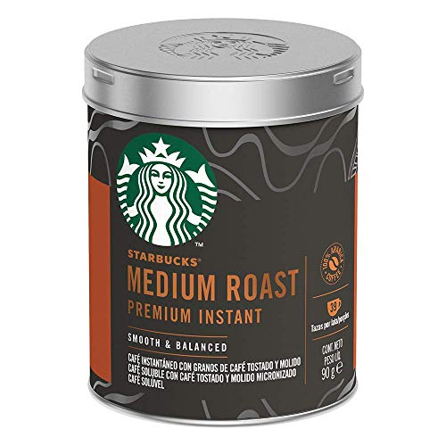 Starbucks Coffee at Home, Medium Roast, 90 gramos