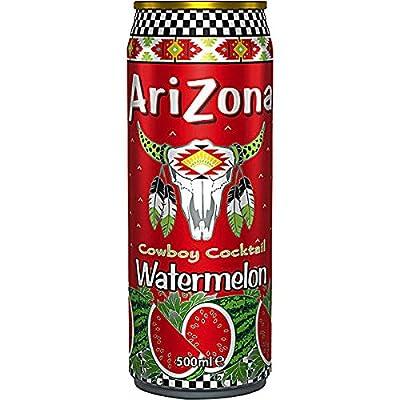 Arizona Cowboy Cocktail Watermelon (Wassermelone) 12 x 500ml Dosen (inkl. 3,00 Euro Pfand)