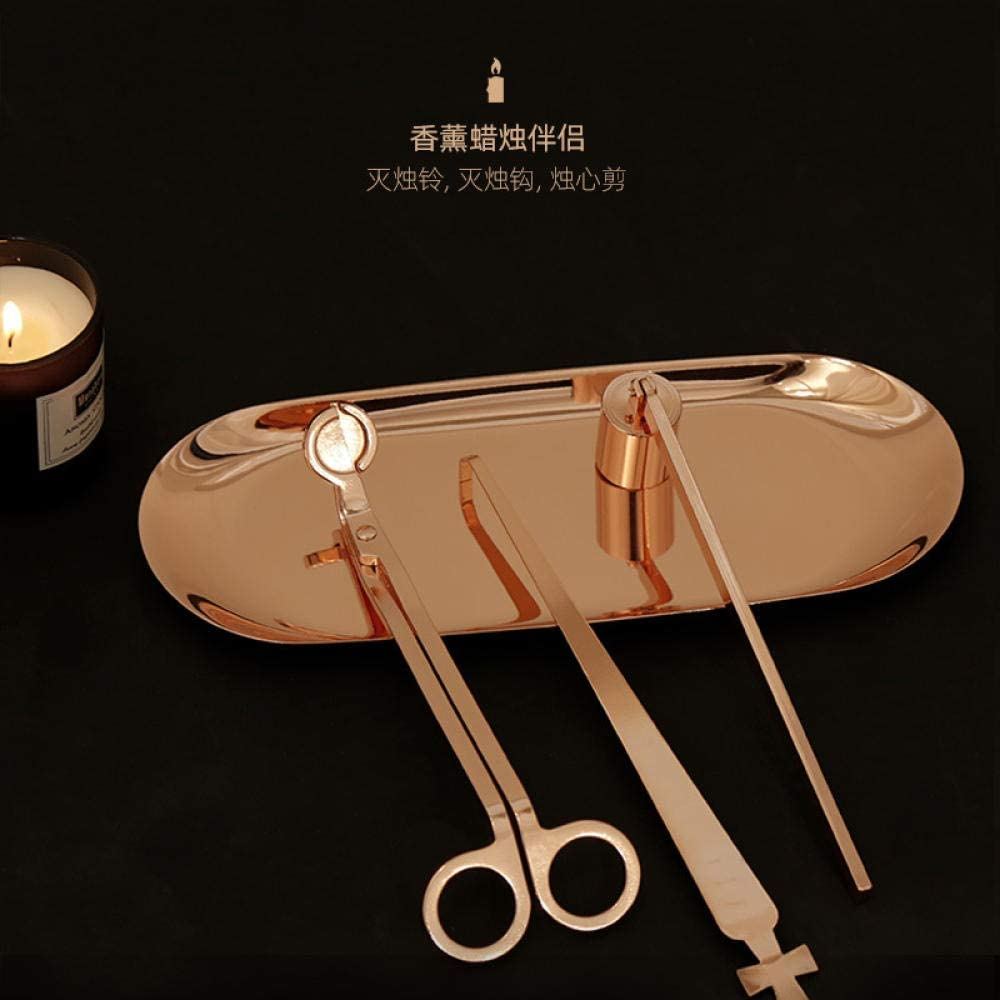 Candle Limited time for free shipping Wick Snuffer 4-in-1 candle set scented e accessory Regular store