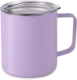 Maars Drinkware 79710-1PK Townie Stainless Steel Insulated Coffee Mug, 1 Pack, Lavender