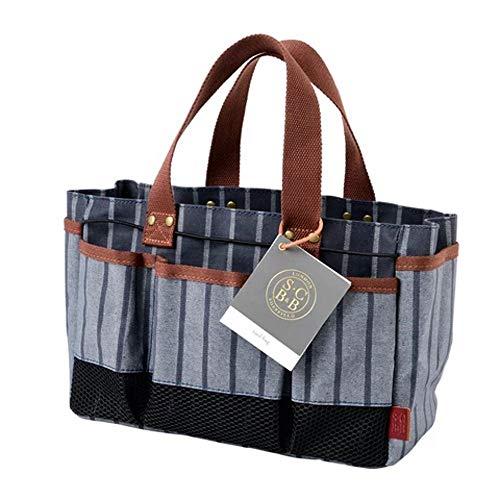Burgon & Ball Sophie Conran Gartenwerkzeug-Aufbewahrungstasche mit 8 Taschen | 100% Baumwolle | wasserabweisende Beschichtung | abwischbares Futter |