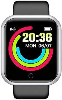 UIEMMY Montre intelligente Y68 D20 2020 pour homme et femme - Moniteur de fréquence cardiaque et de pression artérielle - ...