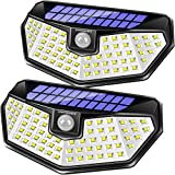 URPOWER Solar Lights Outdoor, 3 Modes Solar Motion Sensor Light Outdoor Super Bright and Wide L…