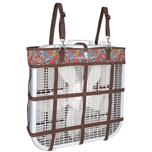 Classic Equine Stall Fan Bag, Posey